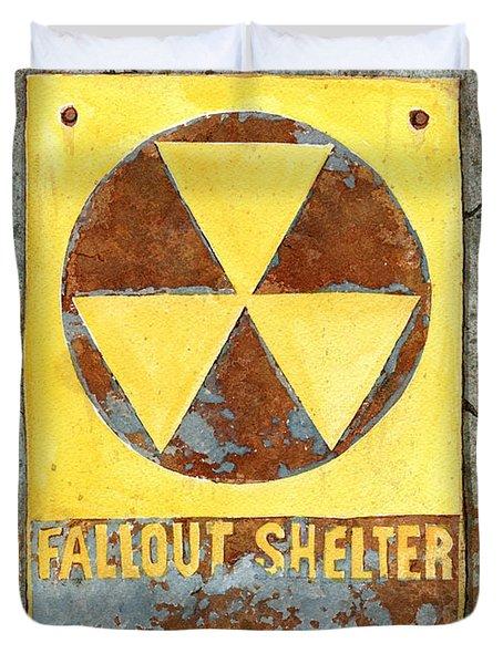 Fallout Shelter #2 Duvet Cover