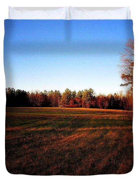 Fallow Field Duvet Cover