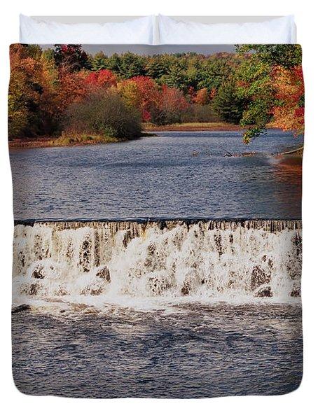 Falls Color Duvet Cover by Joann Vitali