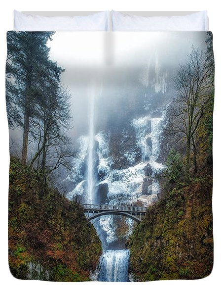 Falls Of Heaven Duvet Cover