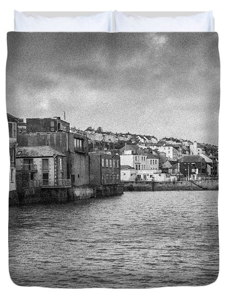 Falmouth Waterfront Duvet Cover