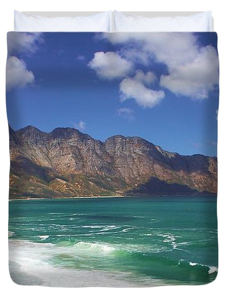 False Bay Drive Duvet Cover