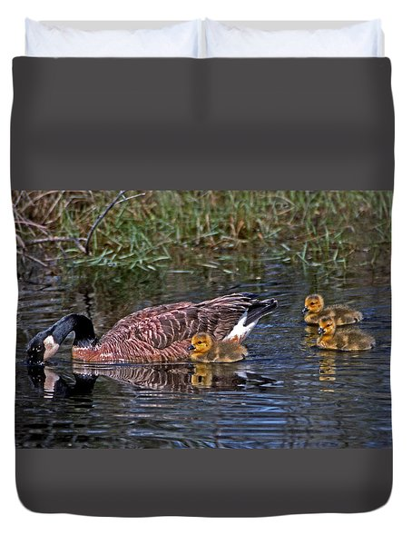 Family Affair Duvet Cover by Skip Willits