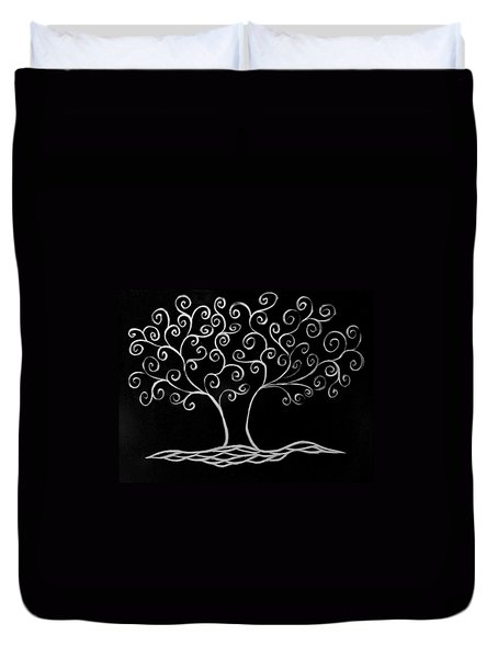 Family Tree Duvet Cover by Jamie Lynn