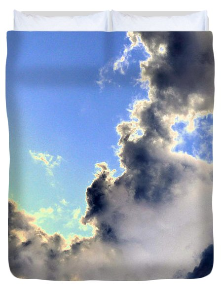 Fanciful Sky Duvet Cover