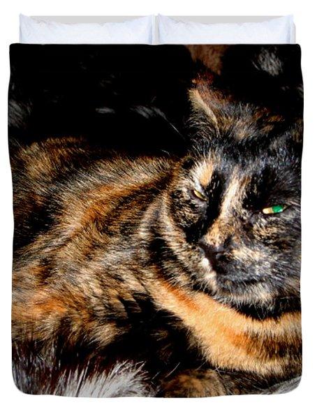 Fancy Cat Duvet Cover