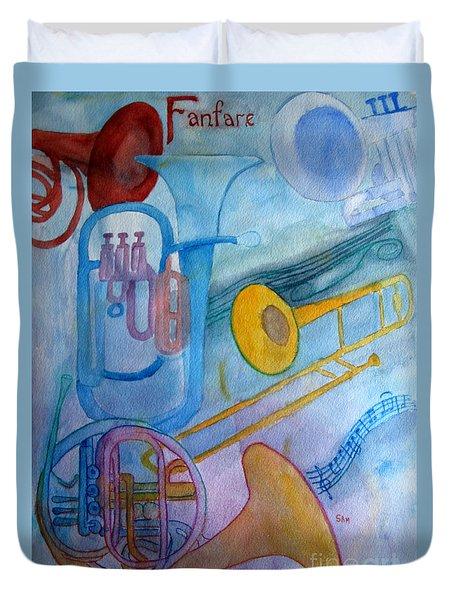 Fanfare Duvet Cover