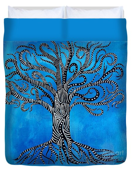 Fantastical Tree Of Life Duvet Cover