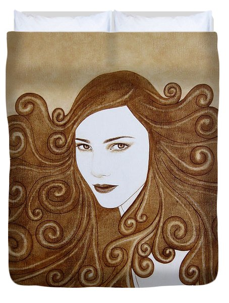 Fantasy I Duvet Cover by Lynet McDonald