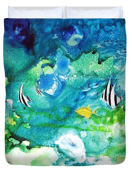 Fantasy Sea Duvet Cover