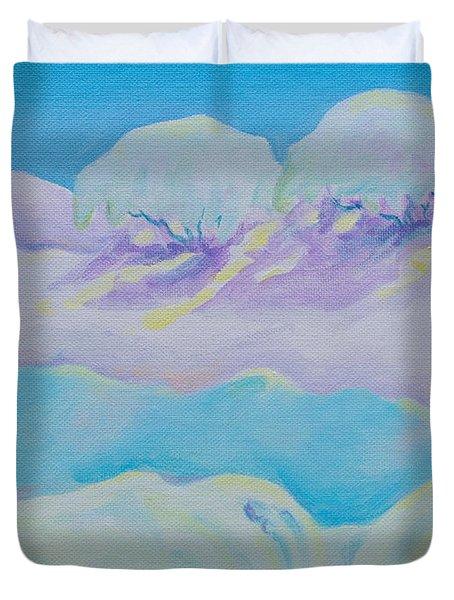 Fantasy Snowscape Duvet Cover