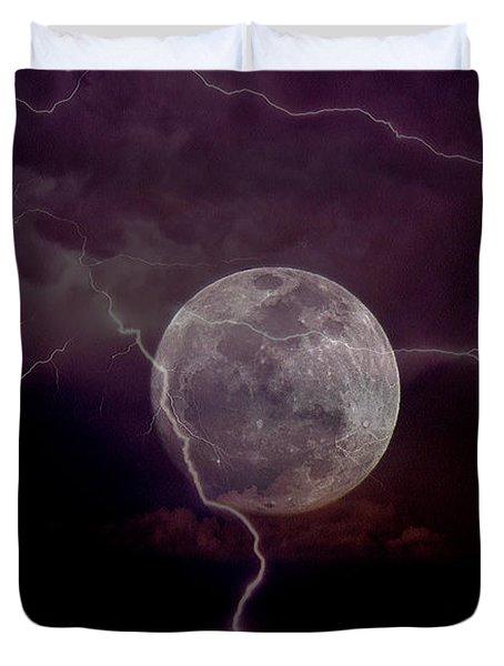 Fantasy Storm Duvet Cover