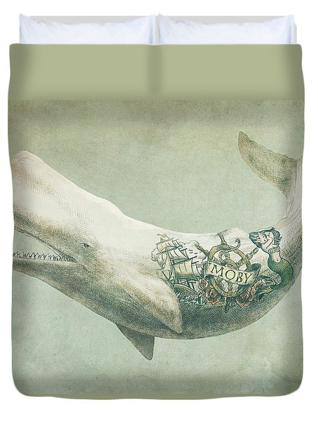 Far And Wide Duvet Cover by Eric Fan