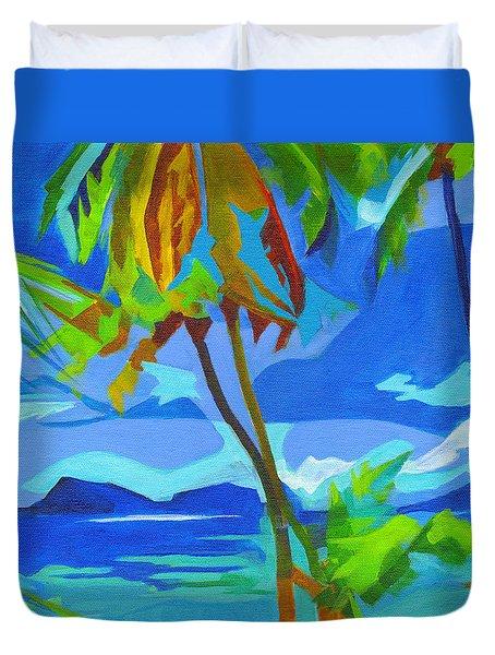 Dream Islands. Maui Duvet Cover