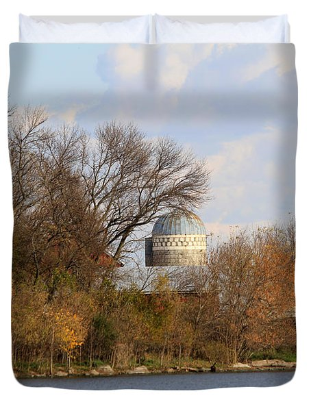 Farm Landscape Duvet Cover by Lori Tordsen