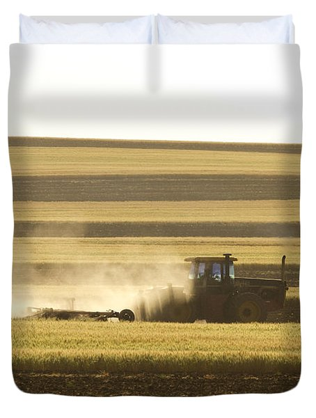Farmer Working Duvet Cover by James BO  Insogna