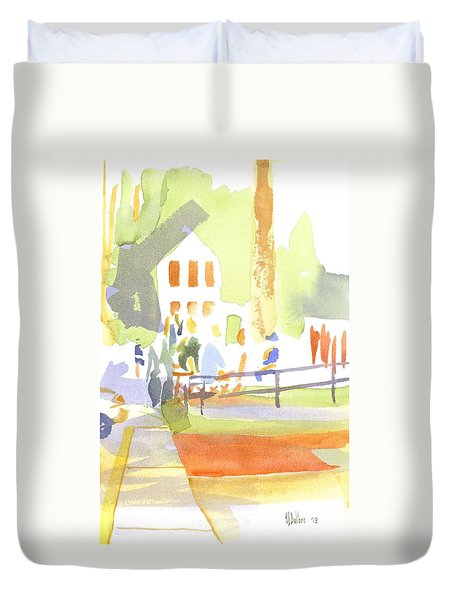 Farmers Market II  Duvet Cover by Kip DeVore