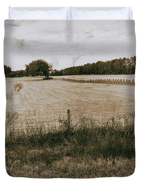 Farming Duvet Cover