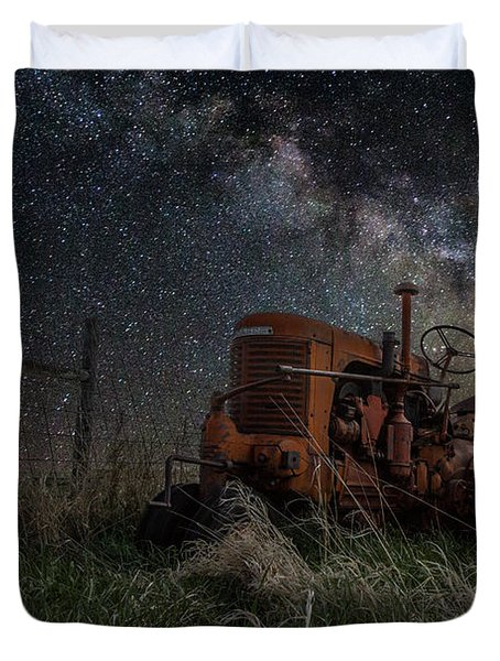 Farming The Rift Duvet Cover