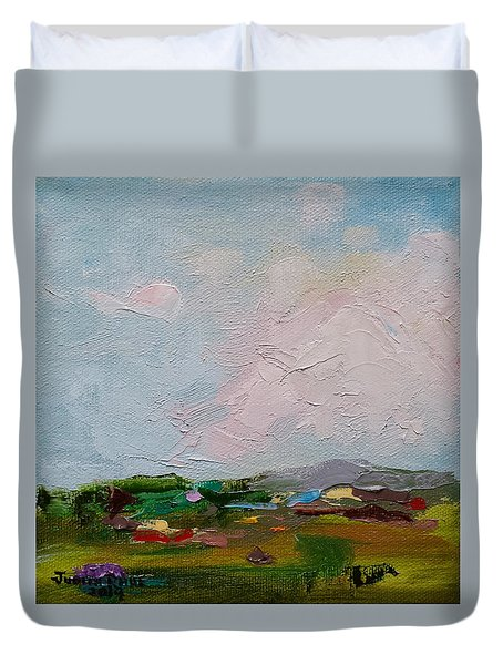 Farmland IIi Duvet Cover