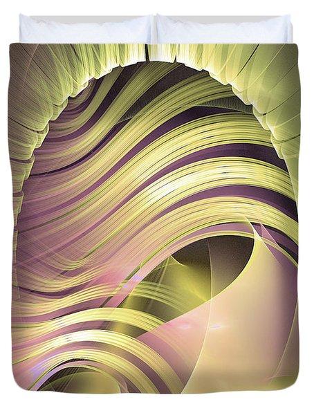 Fascinatio Lucis - Abstract Art Duvet Cover