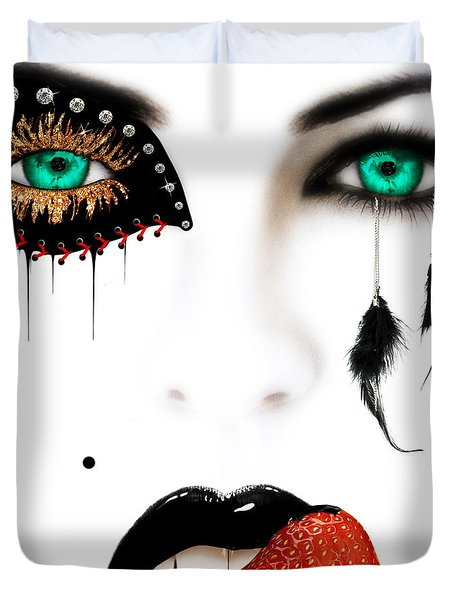Fashionista Duvet Cover