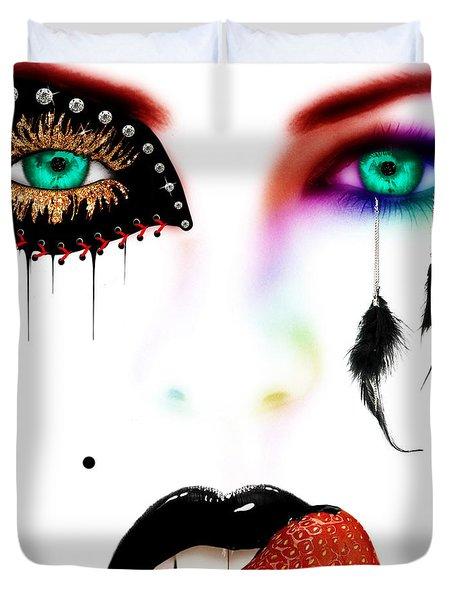 Fashionista Soft Rainbow Duvet Cover