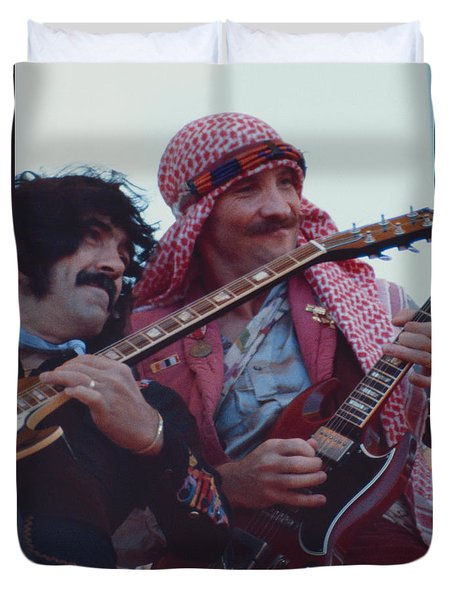 Favorite Of Manny Charlton And Zal Cleminson - Nazareth At Day On The Green 2 - 4th Of July 1979  Duvet Cover