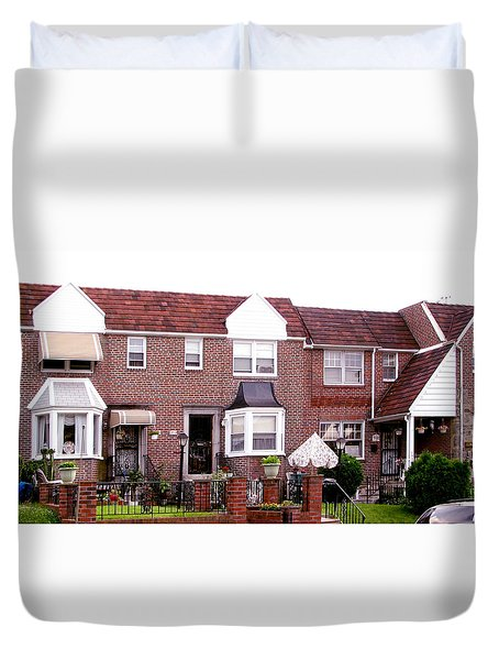 Fayette Street Duvet Cover by Christopher Woods