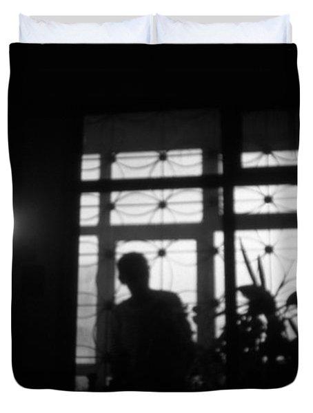 Fear Of The Dark Duvet Cover by Taylan Apukovska