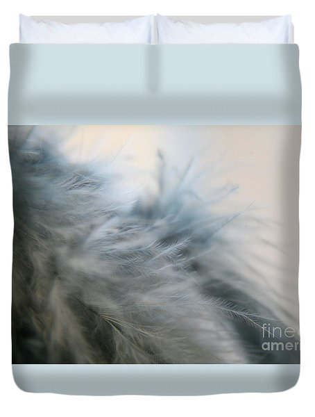 Feathered  Duvet Cover by Lynn England