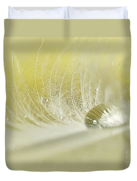 Feathered Softness Duvet Cover by Kaye Menner