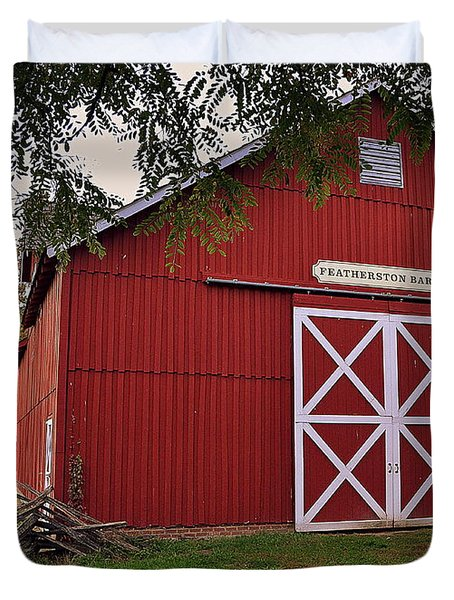 Featherstone Red Barn Duvet Cover