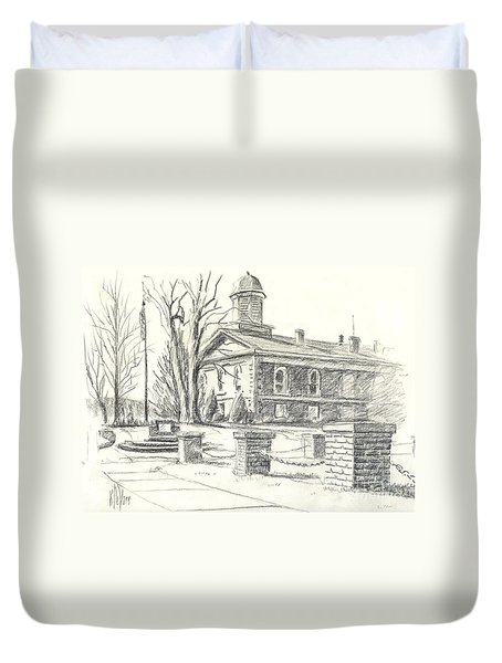 February Morning  No Ctc102 Duvet Cover by Kip DeVore