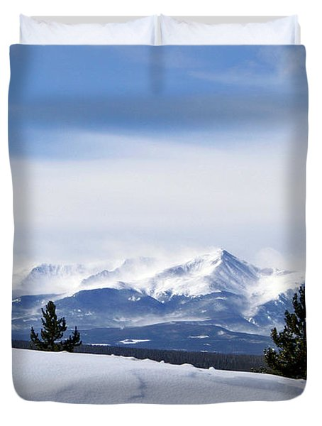 February Wind Duvet Cover by Jeremy Rhoades