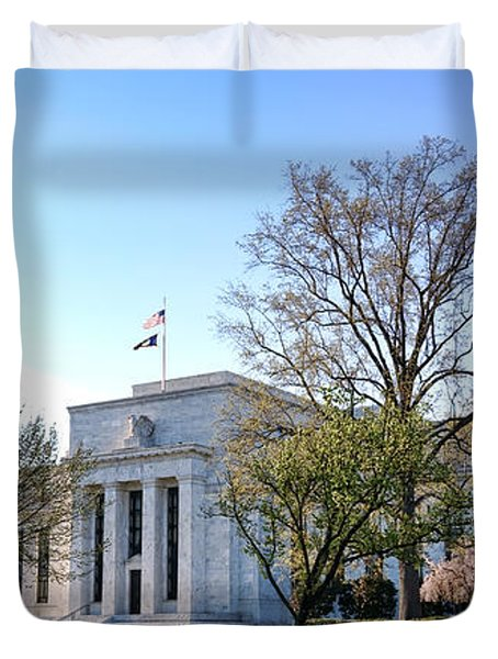 Federal Reserve Building Duvet Cover