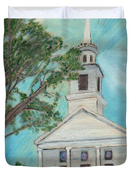 Federated Church Duvet Cover