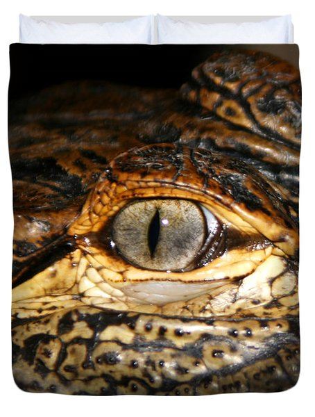 Feisty Gator Duvet Cover