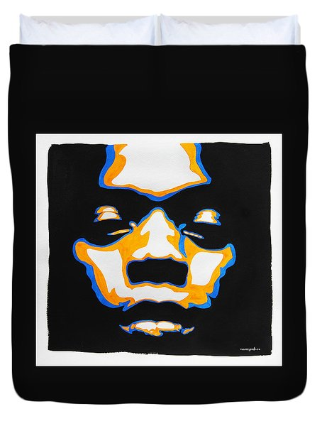 Fela. The First Black President. Duvet Cover