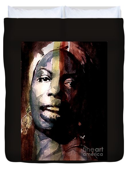Felling Good  Duvet Cover by Paul Lovering
