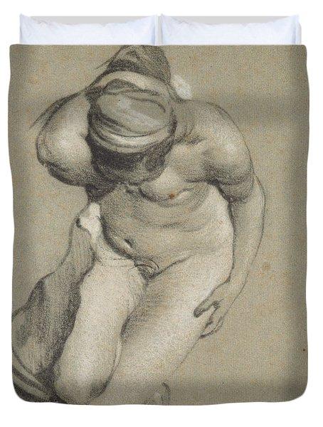Female Nude  Duvet Cover
