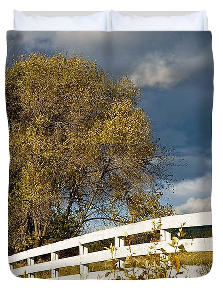 Fence Duvet Cover