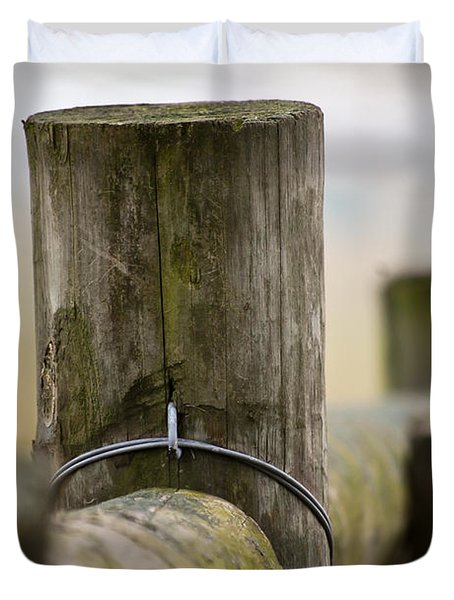 Fence Post Duvet Cover