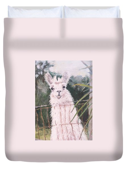 Fences Make Good Neighbors Duvet Cover
