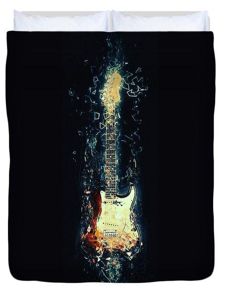 Fender Strat Duvet Cover