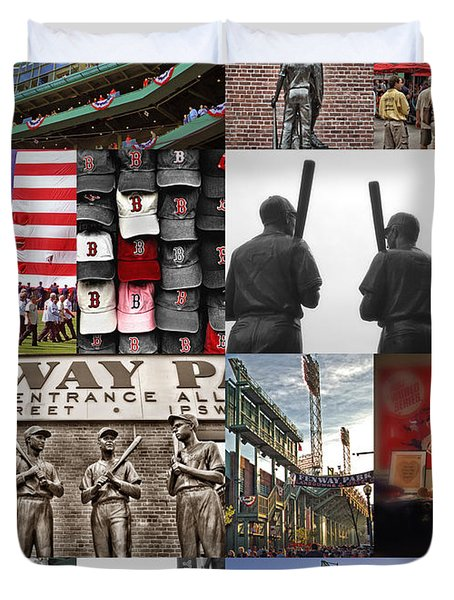 Fenway Memories Duvet Cover