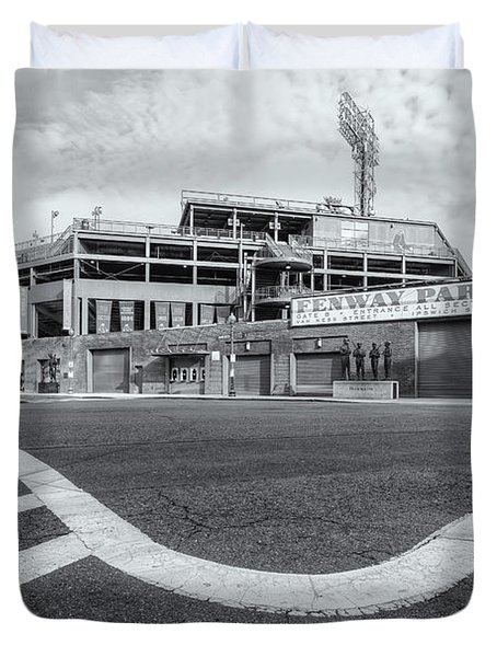 Fenway Park Vi Duvet Cover by Clarence Holmes