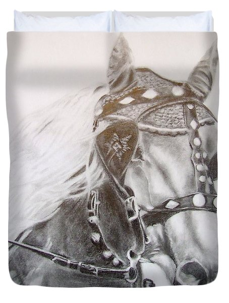 Fer A Cheval Duvet Cover