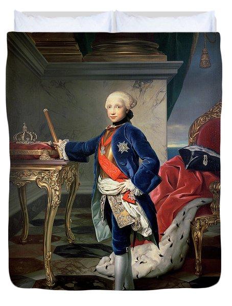Ferdinand Iv, King Of Naples Duvet Cover