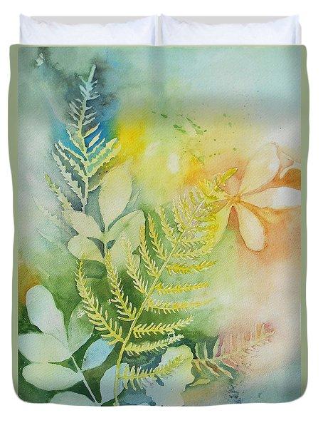 Ferns 'n' Leaves Duvet Cover